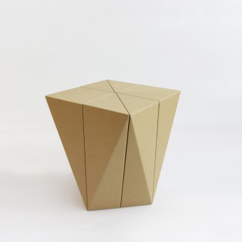 Spiral Stool Stool by Daisuke Nagatomo and Minnie Jan