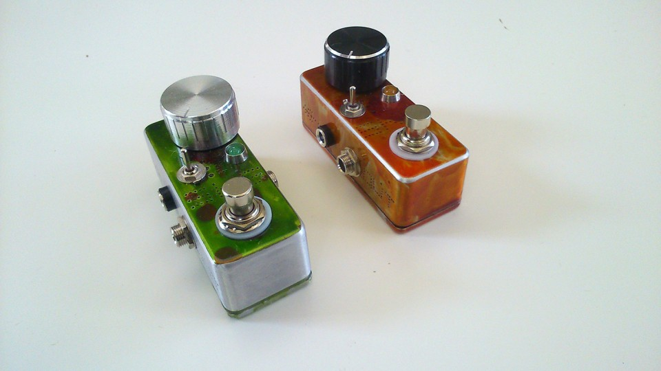 SKG booster overdrive effect pedal