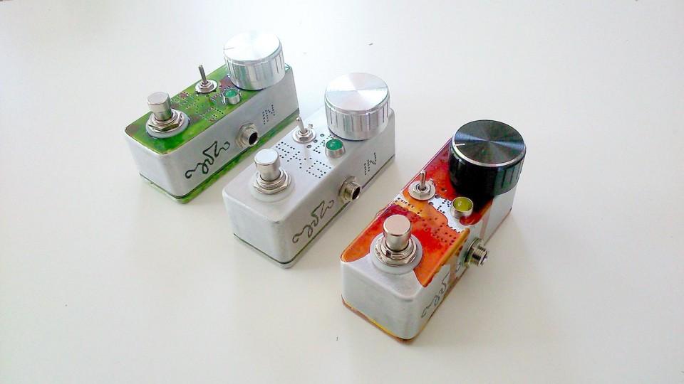 SKG booster overdrive effect pedal